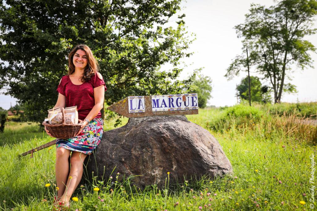 Aurelie agricultrice La Margue Verniolle