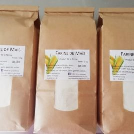 Farine de Maïs Blanc 1 kg