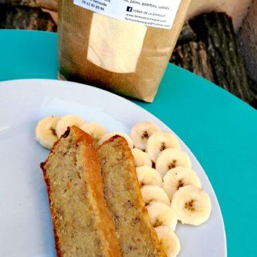 Gâteau à la Farine de Maïs et Bananes